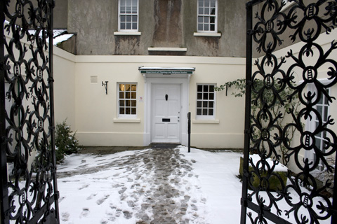 Entrance to the Highfield House
